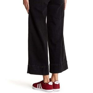 """Free People Jeans - NWT $128 Free People overalls in black """"Madison"""""""